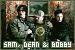 Supernatural: Dean, Sam & Bobby